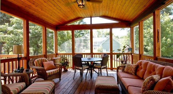 Craftsman Model Sun Room